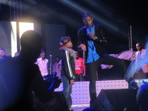 Chameleone ask Abba to thank the fans