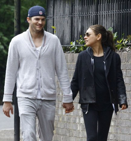 Kutcher and wifey
