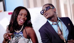 Leila Kayondo and Jose Chameleone in relaxing video