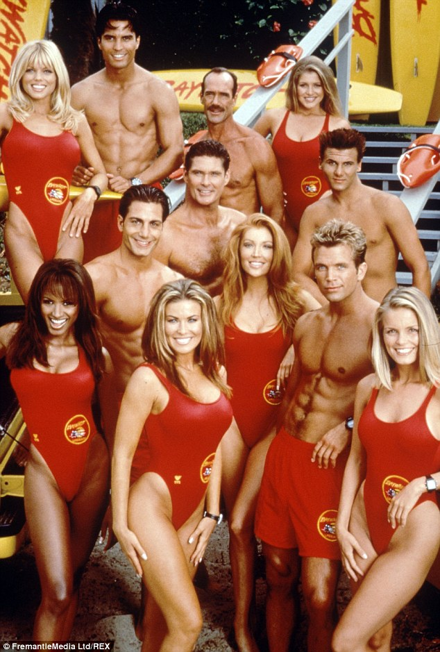 Former cast of the Baywatch series