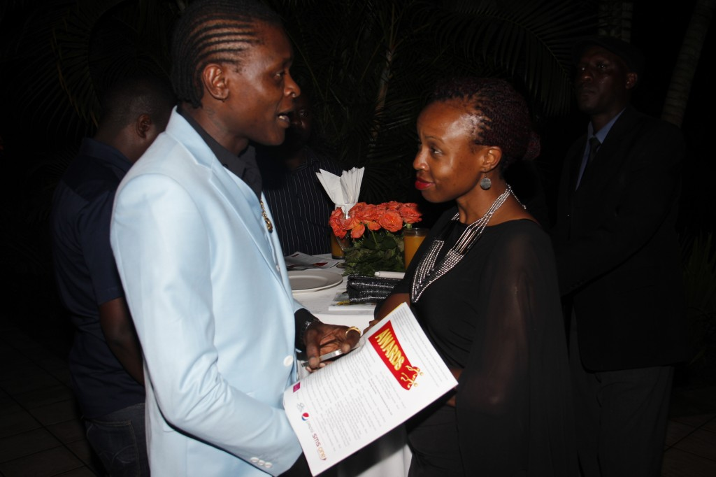 Chameleone and Mrs Mushabe