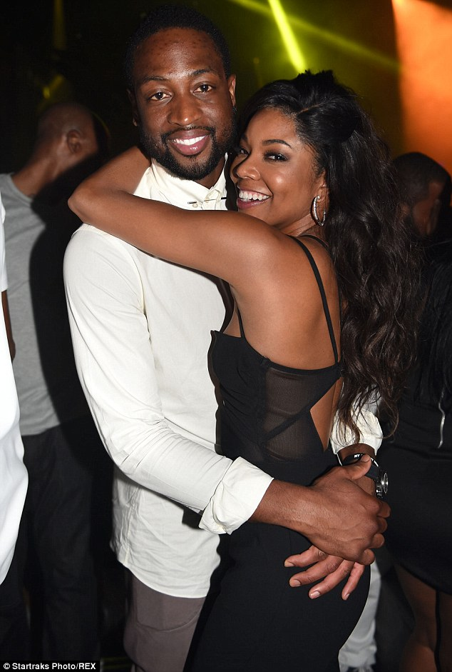 Gabrielle Union with Husband Dwayne Wade