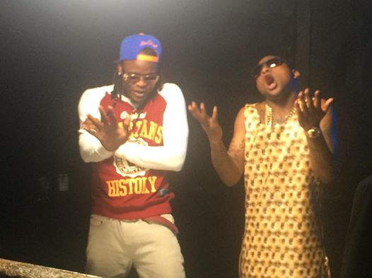 Twatoba video shoot: Pallaso and Davido