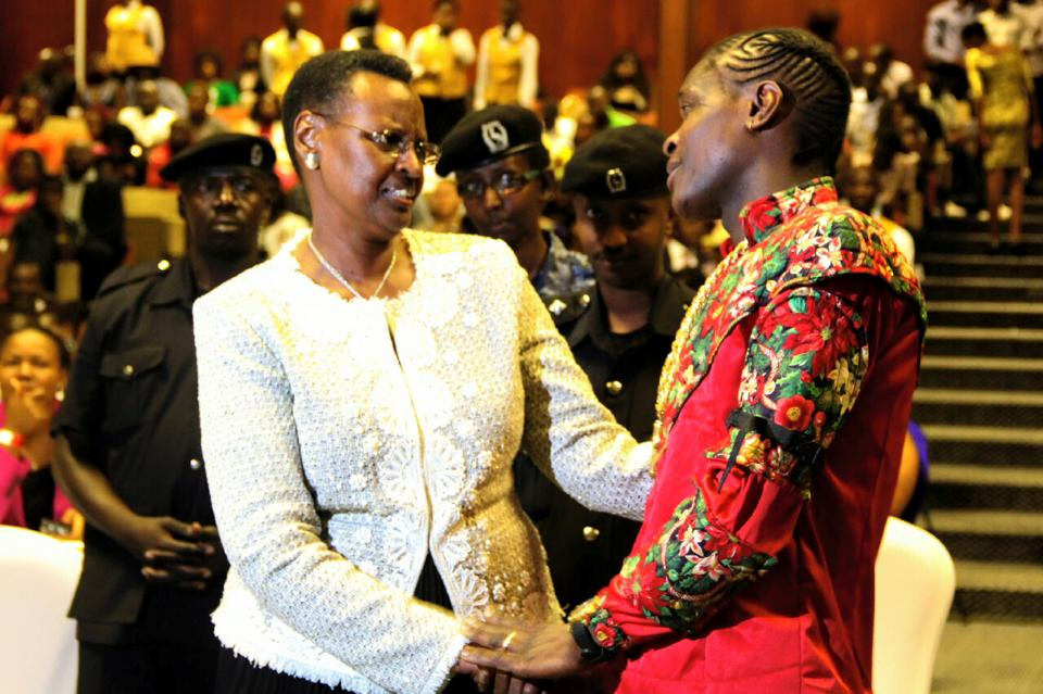 Jose Chameleone thanks Janet Museveni
