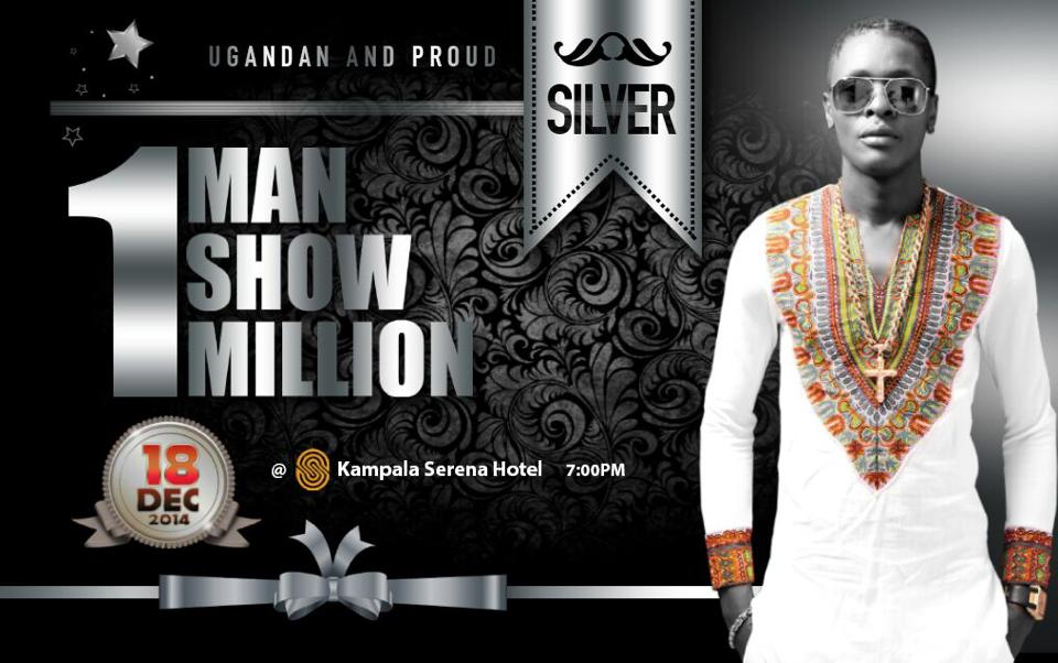 Silver ticket for the Jose Chameleone One Man One Million.