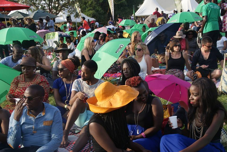 The Last Blankets and Wine event was packed as well