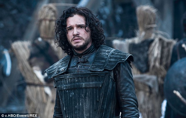 Jon Snow in character