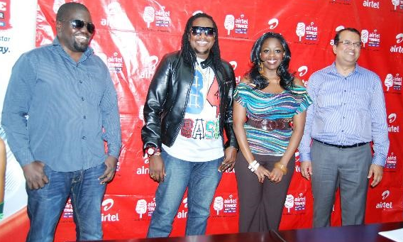Airtel Trace Music Star judges: Fat Boy, Washington and Angella Katatumba