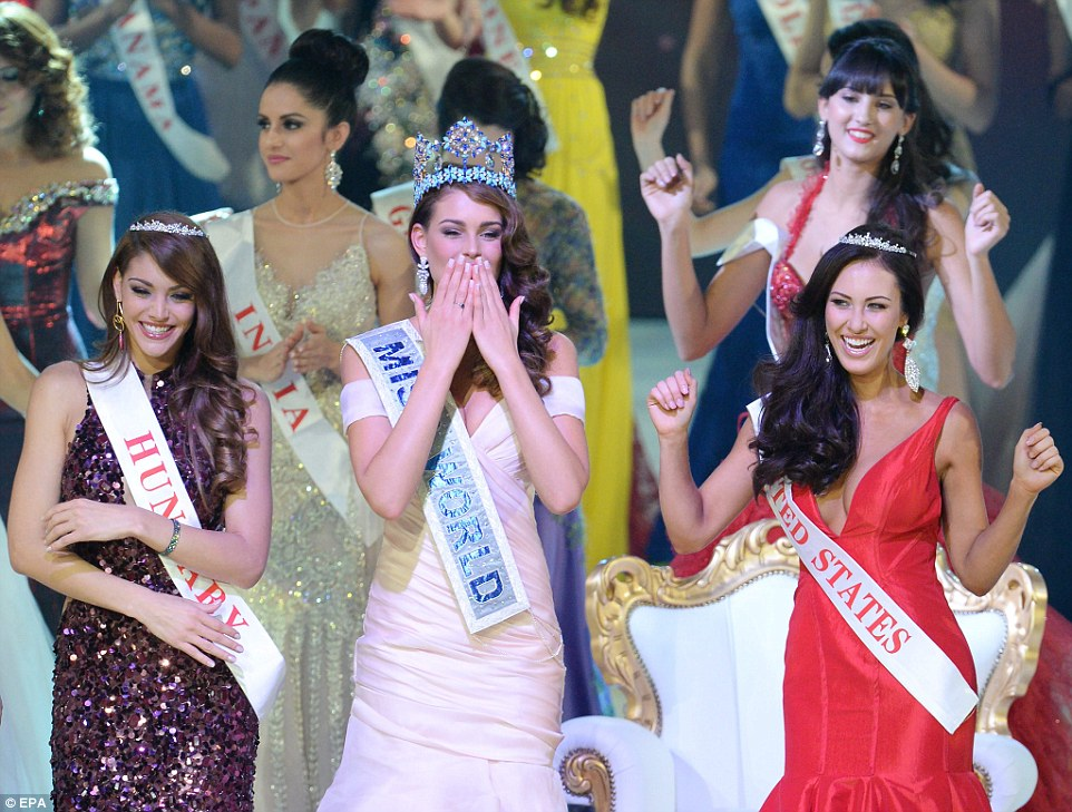 Miss World and the runner ups