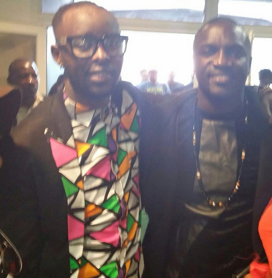 Akon with Eddy Kenzo