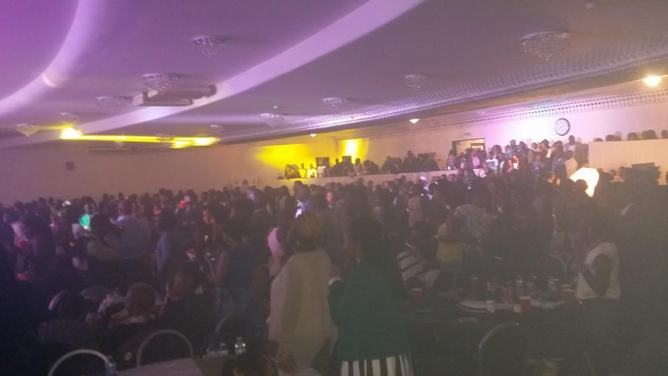 Venue packed to the brim