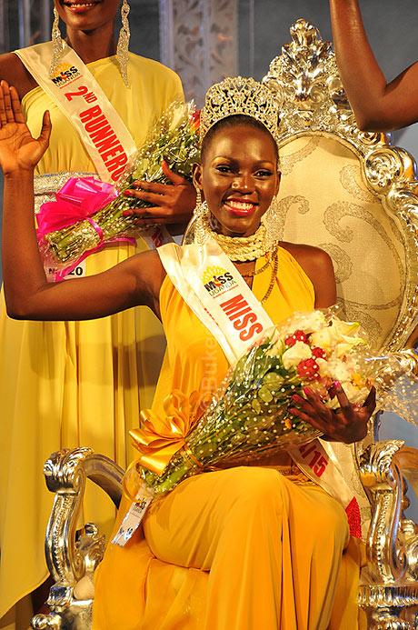 Miss Uganda Leah Kacun