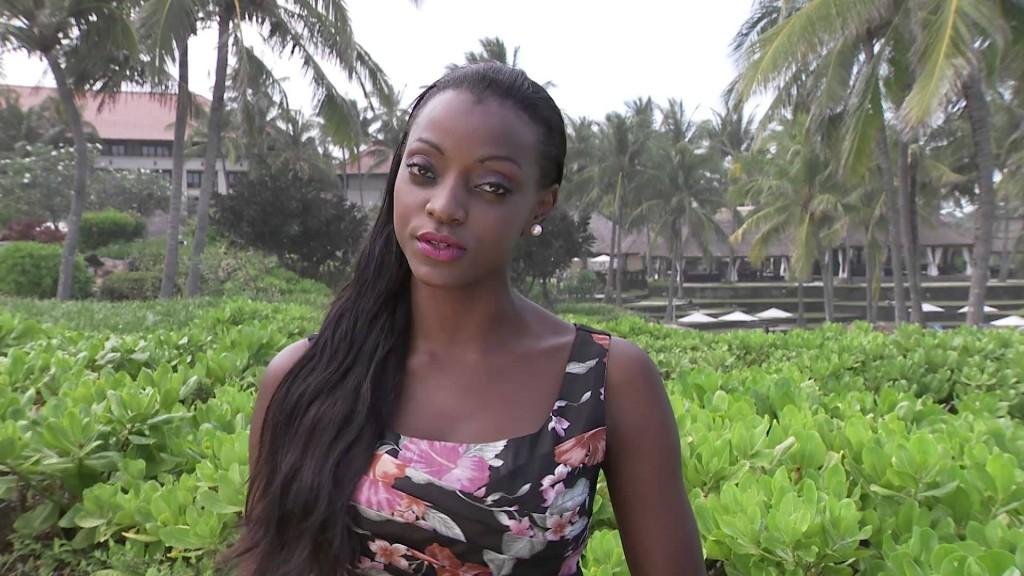 Former miss Uganda Ellah