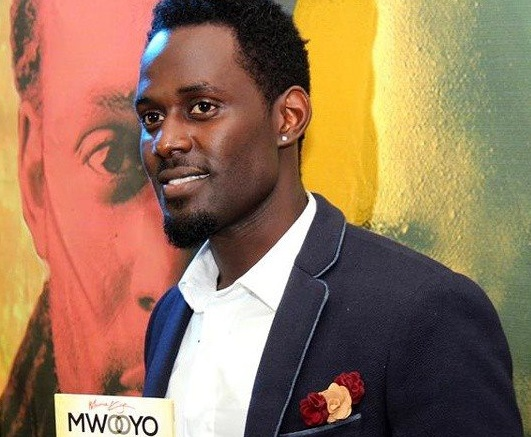 Maurice Kirya launching the Mwooyo album.