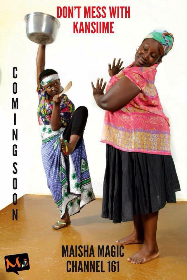 Anne Kansiime shows off her ninja moves