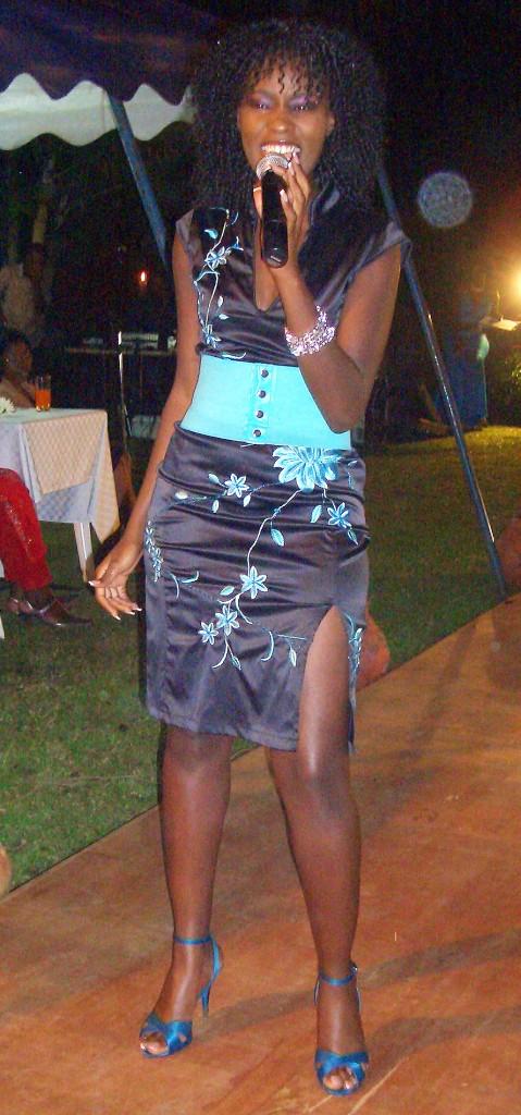 Juliana Kanyomozi showcases her talent