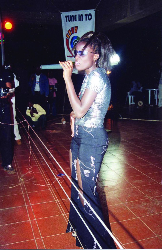 Once a star, always a star. Juliana Kanyomozi does what she knows best