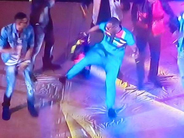 Eddy Kenzo performs at the AFCON closing ceremony