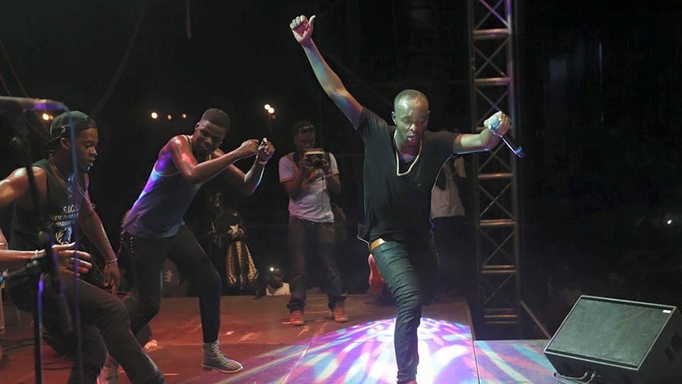 Eddy Kenzo's massive performance in Cote D'Ivoire