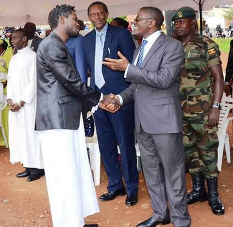 Bobi Wine with the Katikilo