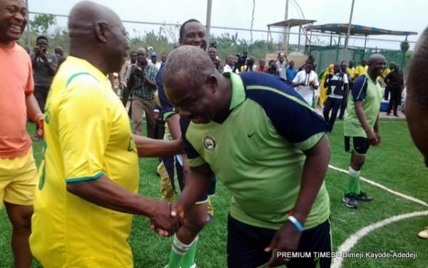 Obasanju shown the worthy respect.