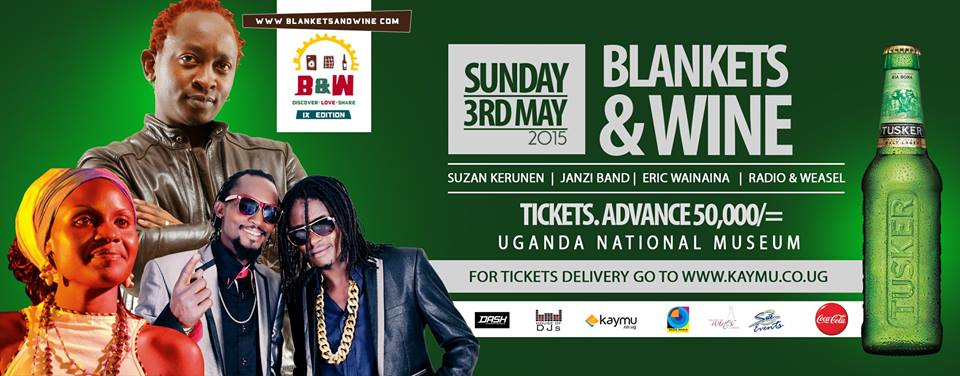 Blankets and Wine exciting fans