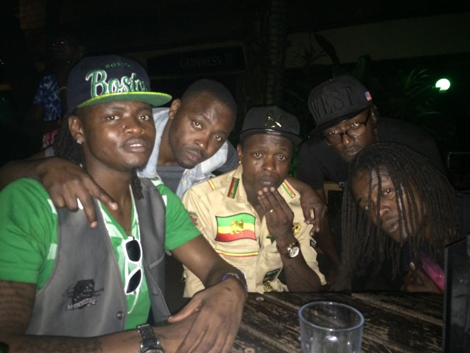 The Mayanja brothers, Jose Chameleone, Pallaso and Weasel
