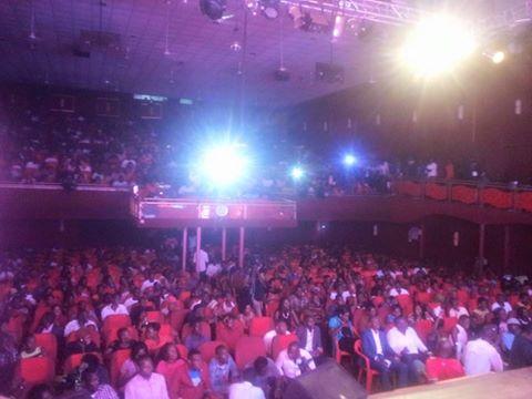 Theater Labonita was a full house last night