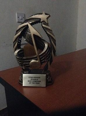 Zzina award Amooti won