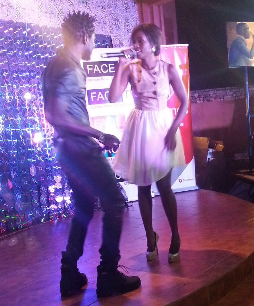 Bobi Wine and Cindy put on an ecstatic performance.