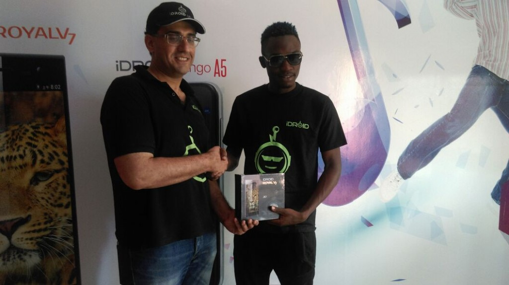 It's official Nutty Neithan is the new Idroid ambassador
