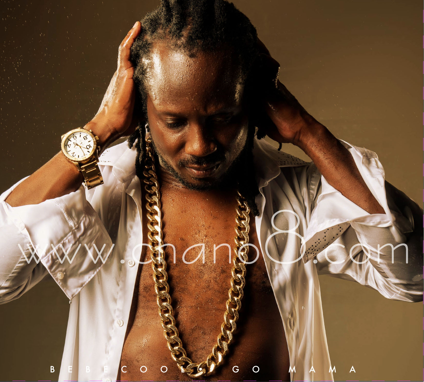 Some of the art work off Bebe Cool's Go Mama album