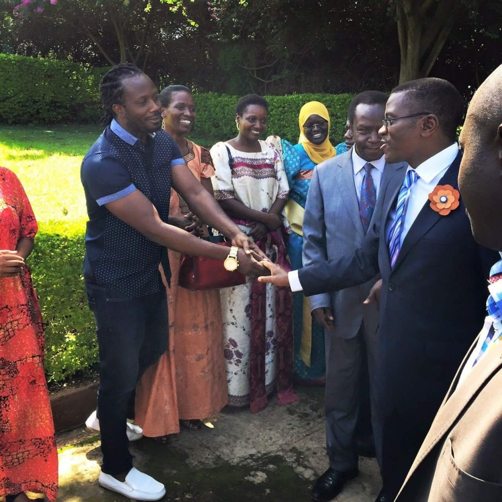 Bebe Cool welcomes the Katikiro