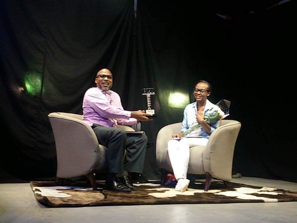 Ssempa receives his Buzz Teeniez award