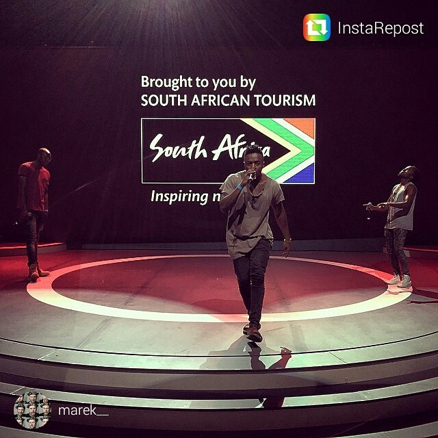 Sauti Sol performs South Africa
