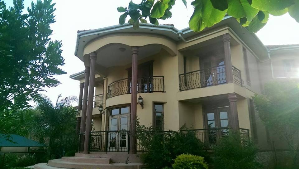 Eddy Kenzo's massive house