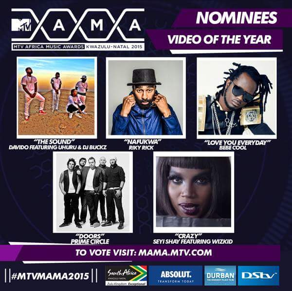 Bebe Cool's nomination