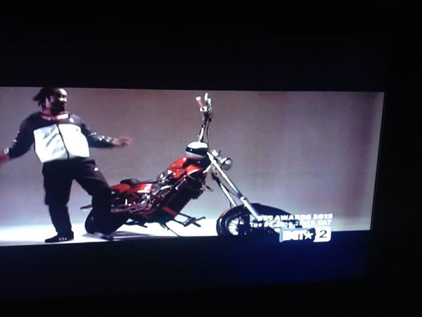 Bebe Cool's old skool video was played on the BET channel