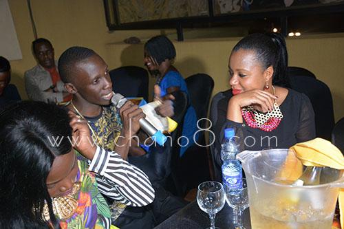 NTV Douglas Lwanga asks Zuena what she thinks of the album