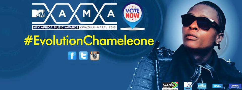 Jose Chameleone needs more of your votes.