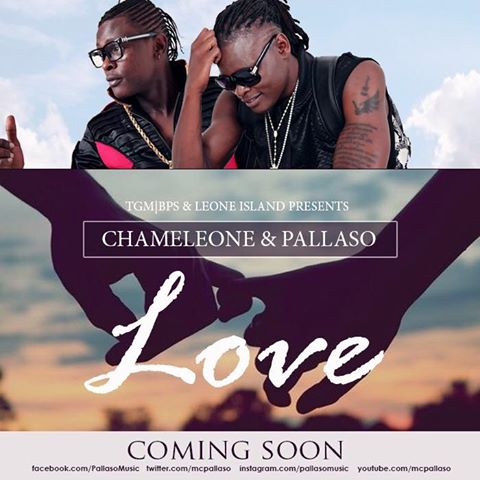 The Pallaso and Jose Chameleone new song.