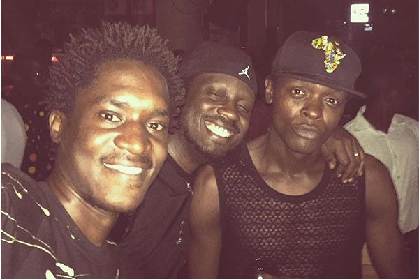Jose Chameleone with Bebe Cool and A Pass