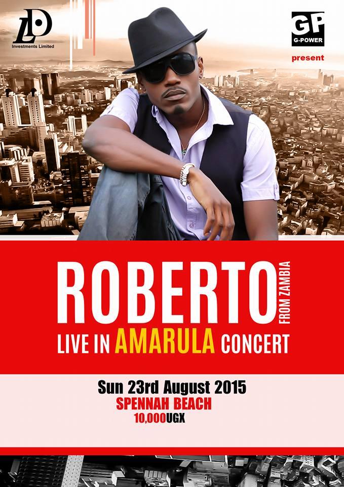 Roberto coming to Uganda