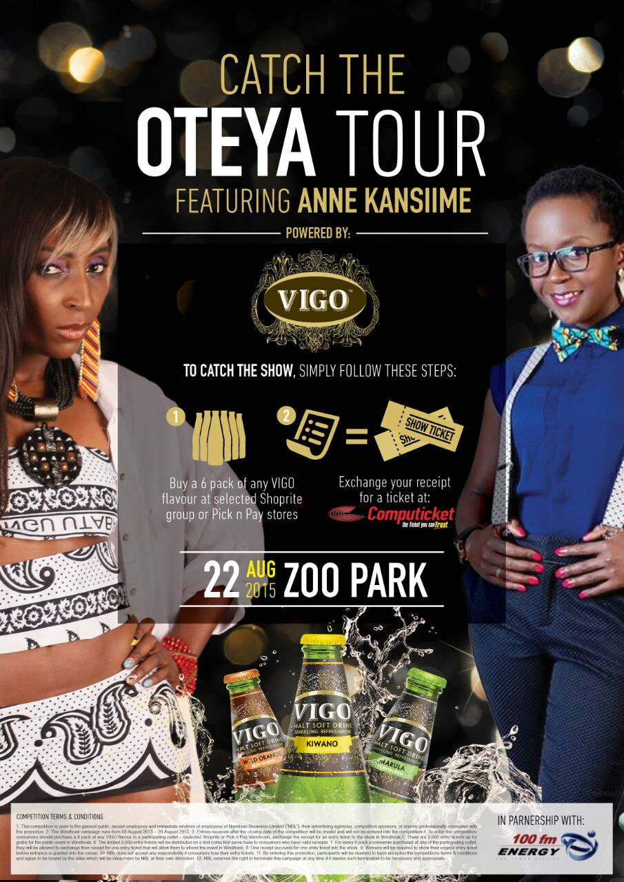 Anne Kansiime set for her first tour in Namibia.