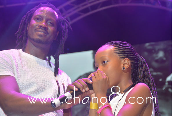 Bebe Cool's daughter shows off her skill