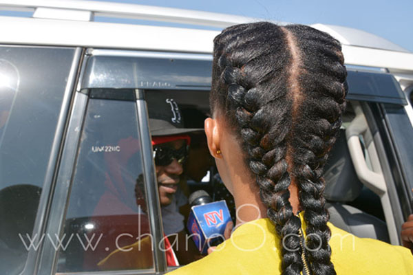 Sheila Gashumba interviews Busy Signal.