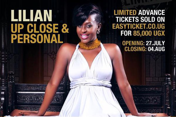Lillian Mbabazi is ecstatic about her show