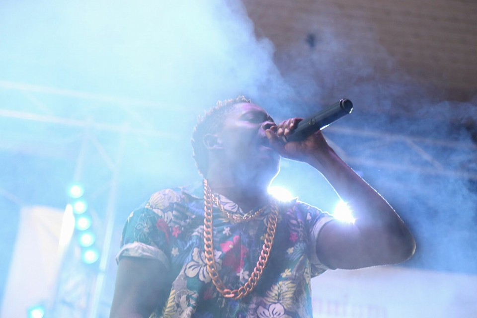 King Saha performs at freedom city