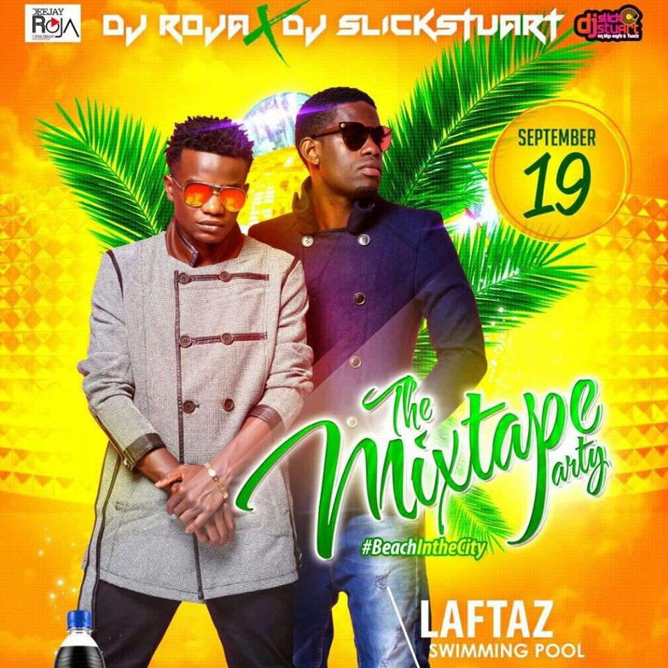 Deejay Roger and  Slickstuart to hold a mixtape party