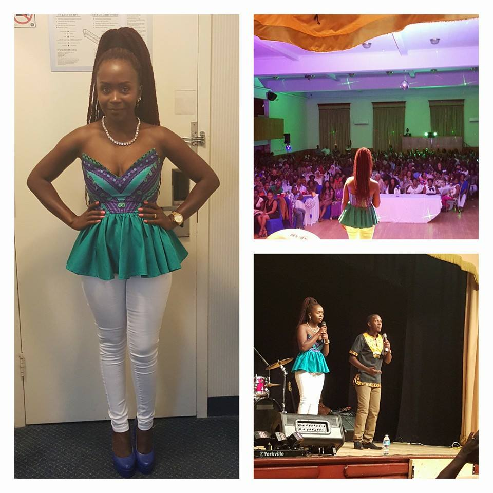 Anne Kansiime and Pablo thrill fans in Toronto